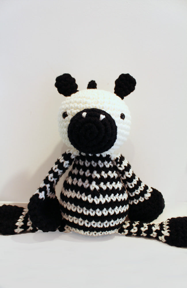 Crochet Zebra Toy