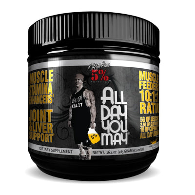 5% Nutrition All Day You May | Size Up Supplements