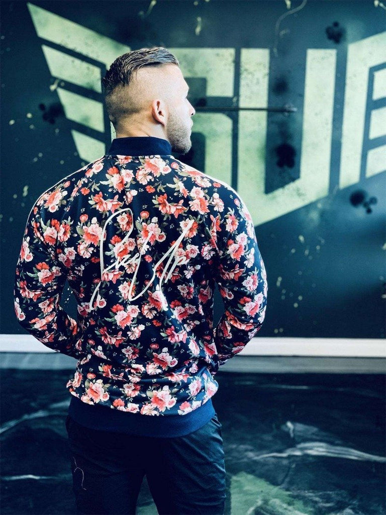 Size Up Tropical Floral Prints Zip Up 3