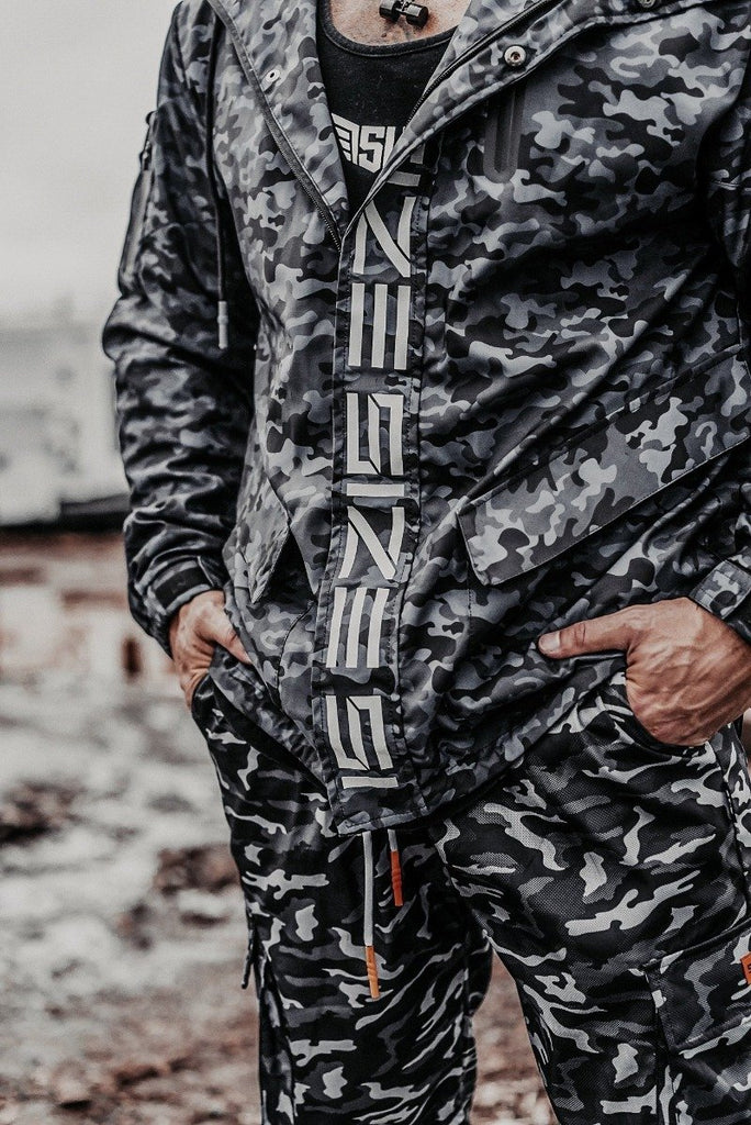 Size Up Midnight Camo SIZE Technical Zip Up 3