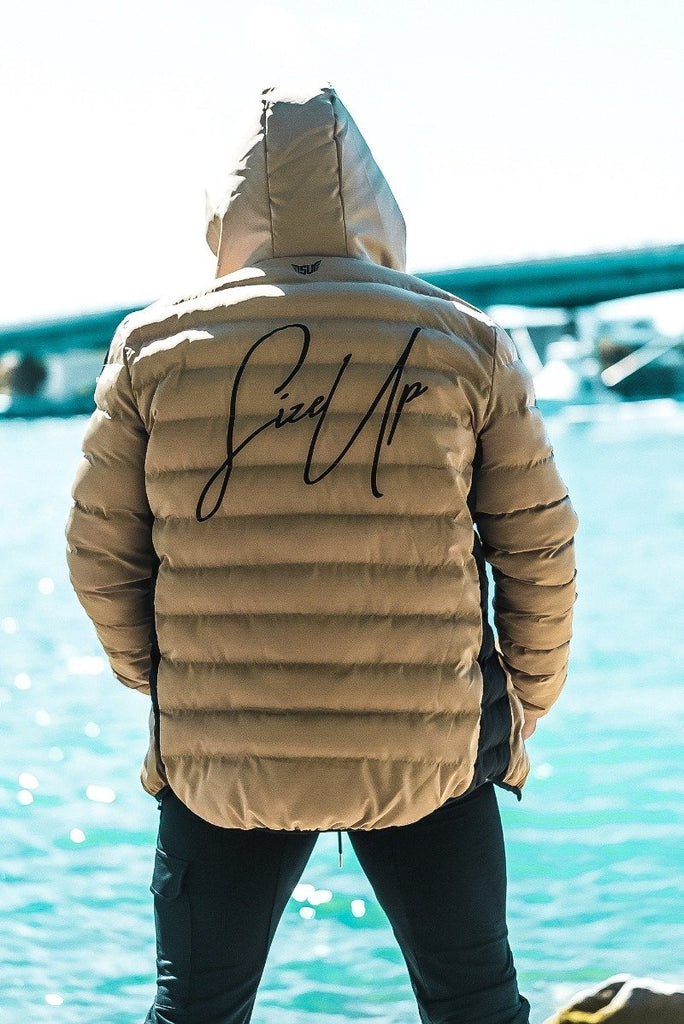 Size Up Gold Signature Puffer Jacket 5
