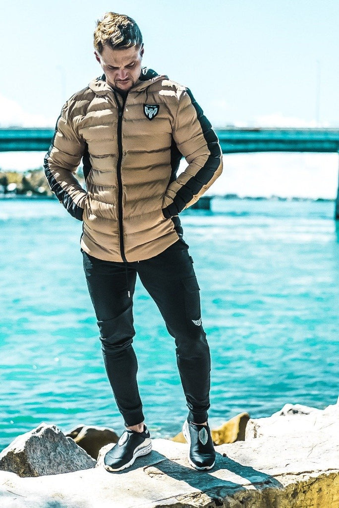 Size Up Gold Signature Puffer Jacket