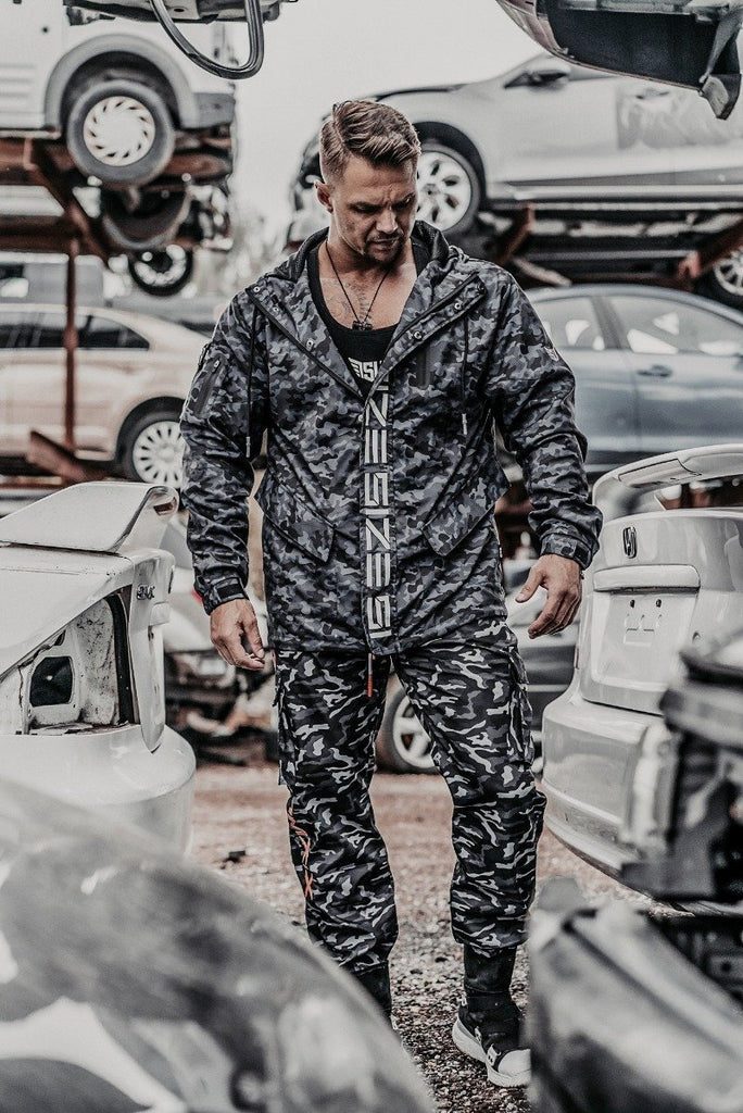 Size Up Midnight Camo SIZE Technical Zip Up 5