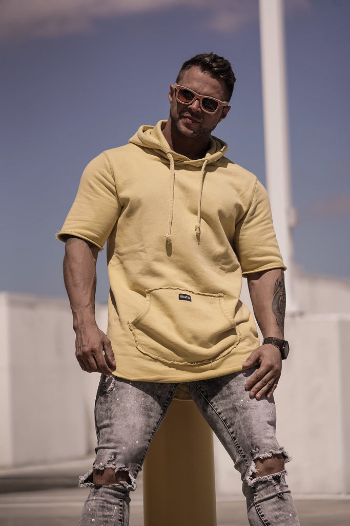 Size Up Mustard Acid Warm Up Hoodie