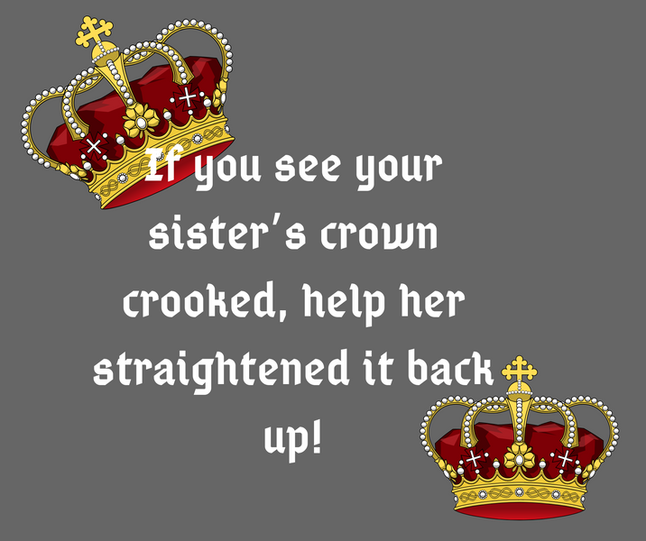 Straighten Her Crown
