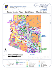 Arizona Forest Service Maps