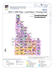 Idaho BLM Maps