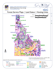 Idaho Forest Service Maps