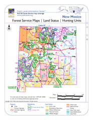 New Mexico Forest Service Maps