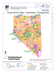 Nevada Forest Service Maps