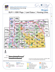 Oregon BLM Maps