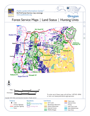 Oregon Forest Service Maps