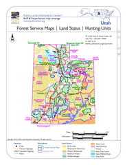 Utah Forest Service Maps