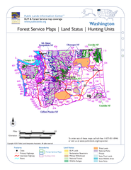 Washington Forest Service Maps