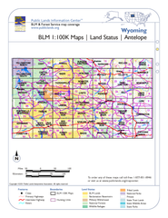 Wyoming BLM Maps