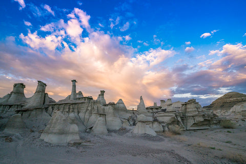 Bisti/De-Na-Zin Wilderness;  Photo by Sherman Hogue