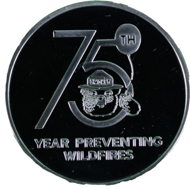 COIN: SMOKEY 75TH BIRTHDAY