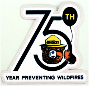 PATCH: SMOKEY 75th BIRTHDAY