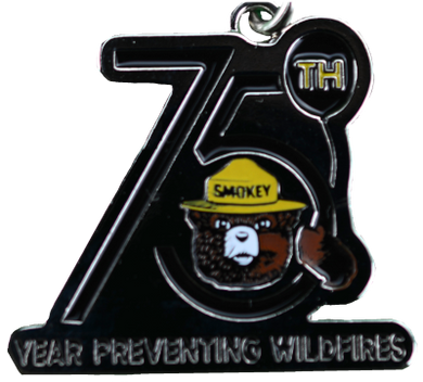 KEYCHAIN: SMOKEY 75th BIRTHDAY
