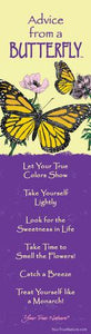 Bookmark: Advice From a Butterfly