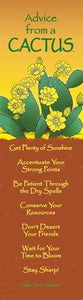 Bookmark: Advice From a Cactus