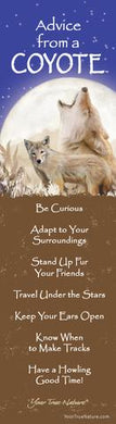 Bookmark: Advice From a Coyote
