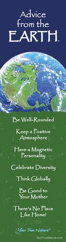 Bookmark: Advice From Earth