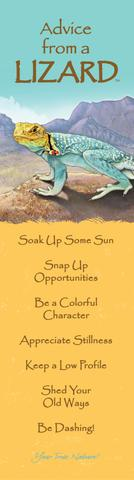 Bookmark: Advice From a Lizard