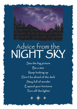 Load image into Gallery viewer, Greeting Card: Advice From Night Sky