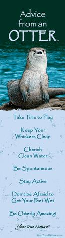 Bookmark: Advice From an Otter