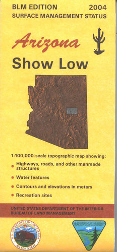 Map: Show Low AZ - AZ146S