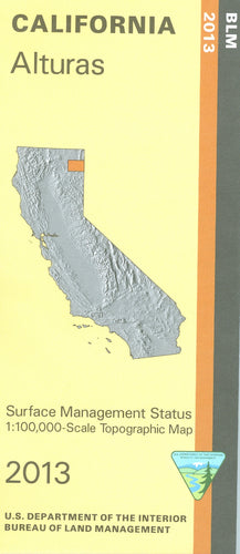 Map: Alturas CA - CA05S