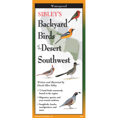 Pocket Guide: Sibley's Backyard Birds of the Desert Southwest