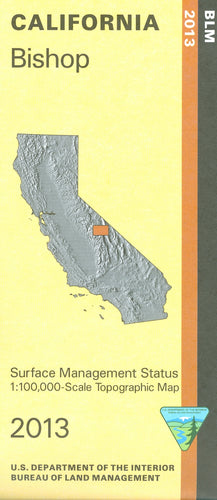 Map: Bishop CA - CA030S