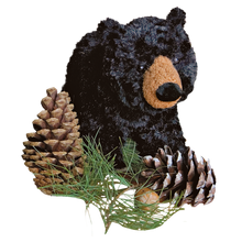Load image into Gallery viewer, Plush: Black Bear 10""