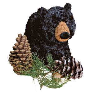 Plush: Black Bear 10""
