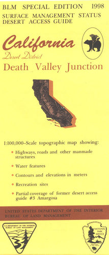 Map: Death Valley Junction CA - CA120S