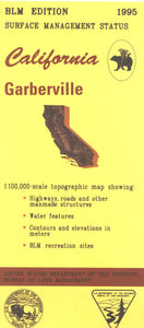 Map: Garberville CA - CA170S