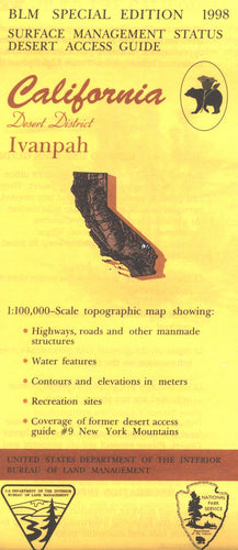 Map: Ivanpah CA - CA205S