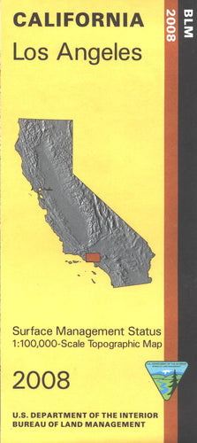 Map: Los Angeles CA - CA250S