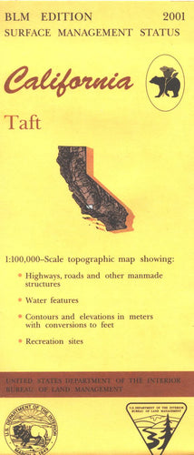 Map: Taft CA - CA510S