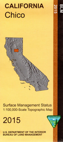 Map: Chico CA - CA075S