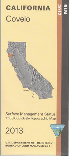 Map: Covelo CA - CA085S