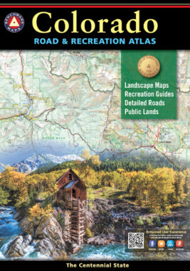 Atlas: Colorado Road & Recreation Atlas