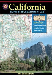 Atlas: California Road & Recreation Atlas