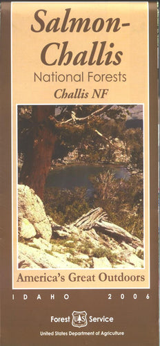 Map: Challis National Forest ID