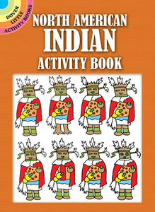 North American Indian Activity Book