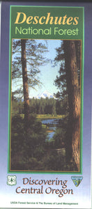 Map: Deschutes National Forest OR