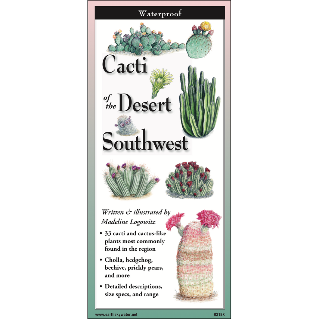Pocket Guide: Cacti of the Desert Southwest