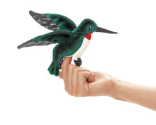 Load image into Gallery viewer, Finger Puppet: Mini Hummingbird